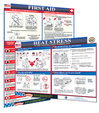 First Aid Posters and Signs